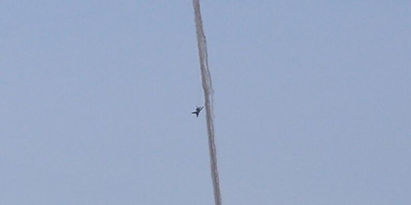 TSK Suriye uçağını vurdu