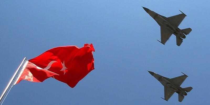 Suriye füzeleri yine Türk F-16'larına kilitlendi