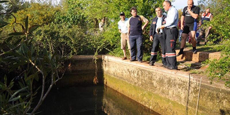 Piknikte kaybolan çocuğun cesedi havuzda bulundu