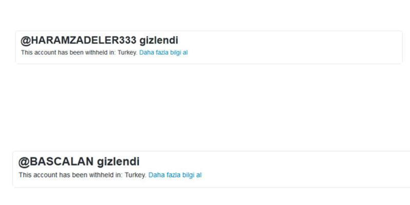 Twitter harekete geçti, o hesaplara erişim yok