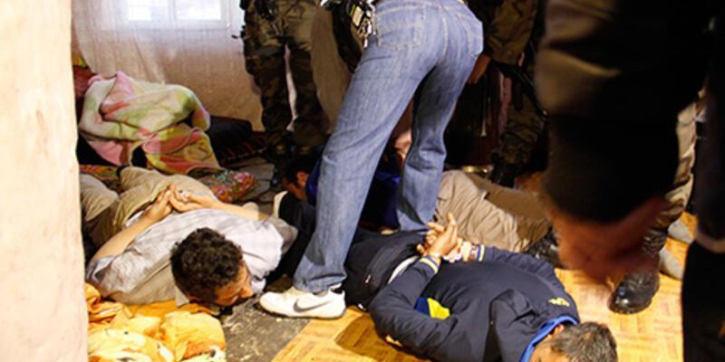 Ankara'da uyuşturucu satıcılarına şafak operasyonu