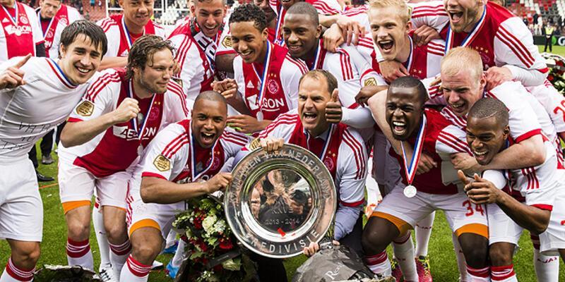 Ajax üst üste 4. kez şampiyon