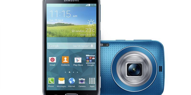 Samsung'dan yeni Galaxy: K zoom
