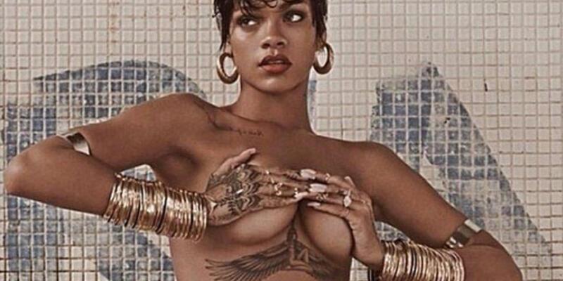 Rihanna'nın çıplak resimleri yasaklandı