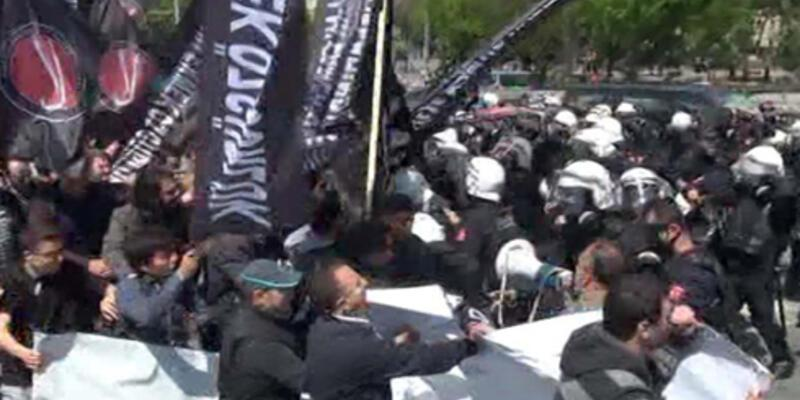 Antikapitalist Müslümanlara polis müdahalesi!