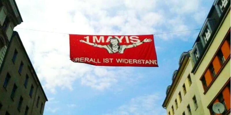Almanya'dan Türkiye'ye 1 Mayıs desteği