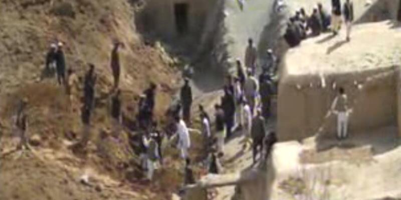 Afganistan'da heyelan faciası