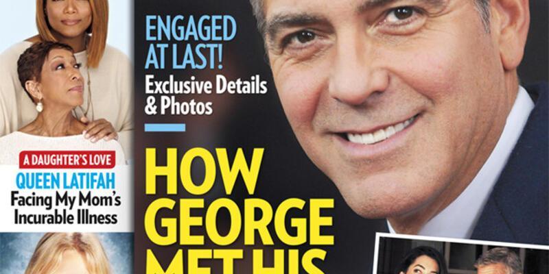 George Clooney 750 bin dolarlık yüzükle evlenme teklif etti