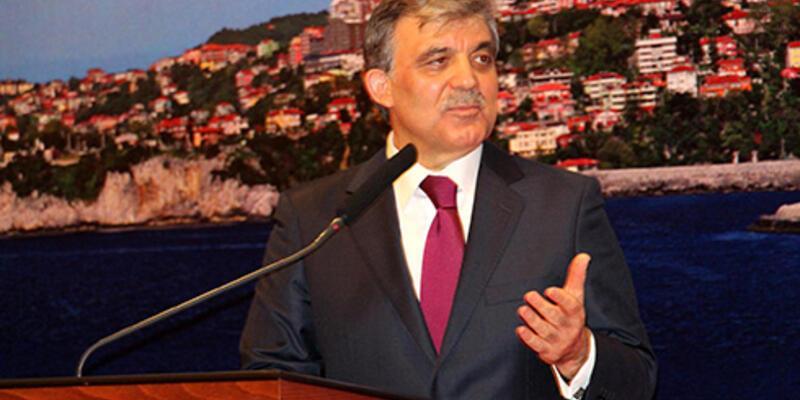 """Cumhurbaşkanı Gül'den """"TSK"""" açıklaması"""