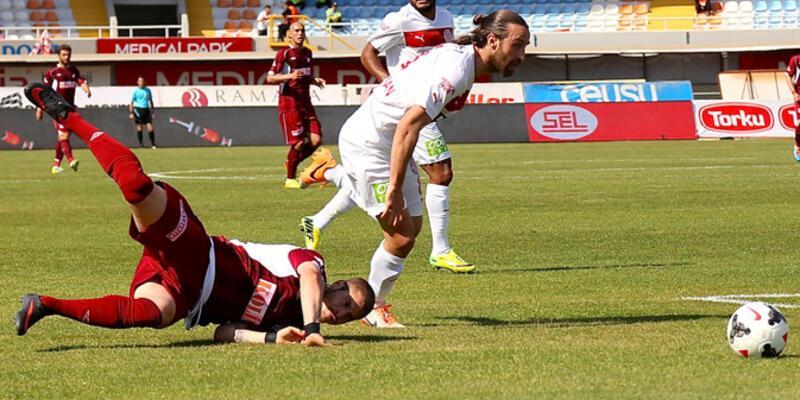 Antalyaspor ve Kayserispor Süper Lig'e veda etti