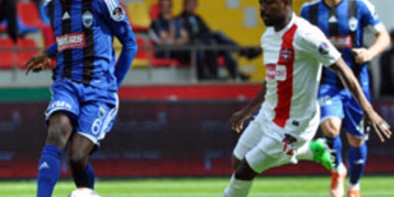 Süper Lig: Kayseri Erciyesspor - Gaziantepspor: 1-0