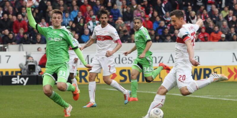 VfB Stuttgart Bundesliga'da kaldı