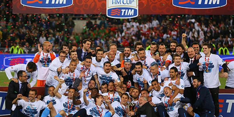 İtalya Kupası'nı Napoli kazandı
