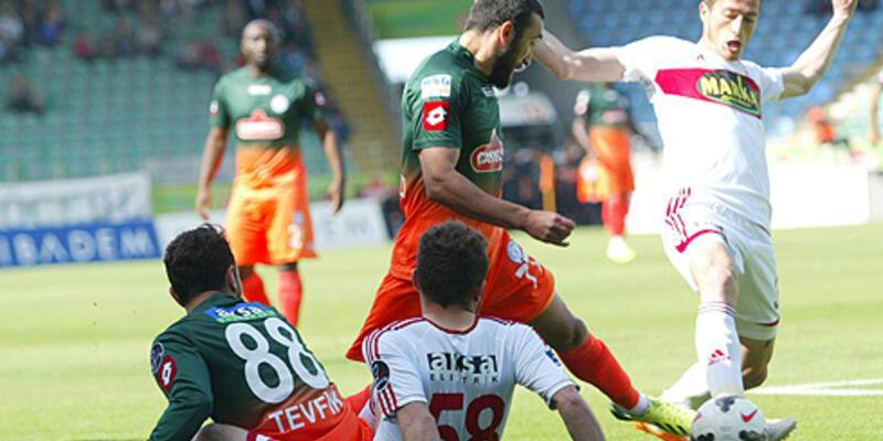 Spor Toto Süper Lig: Çaykur Rizespor: 1 - Sivasspor: 1