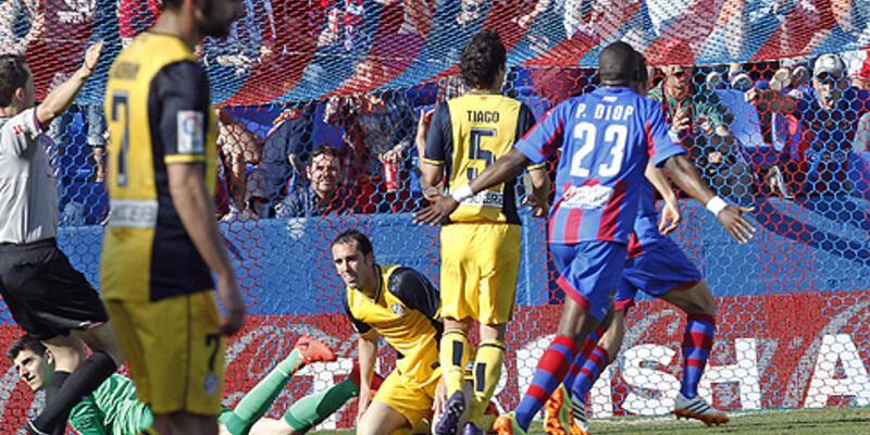 La Liga: Levante - Atletico Madrid: 2-0