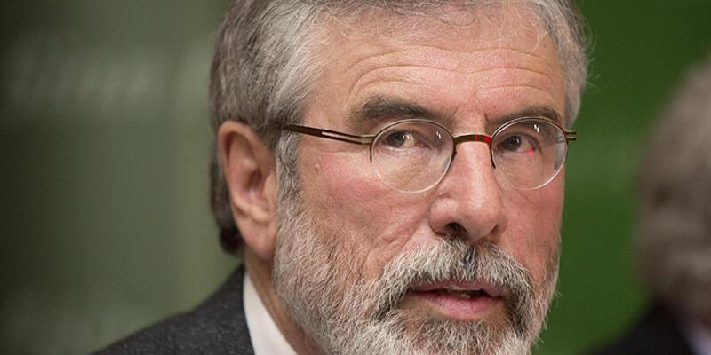 Sinn Fein lideri Gerry Adams serbest bırakıldı