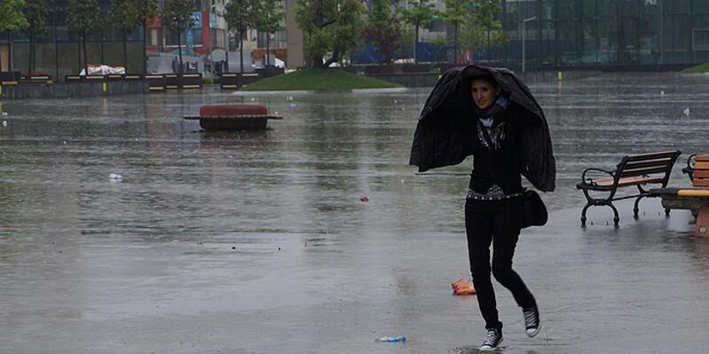 Meteoroloji'den sağanak yağış ve fırtına uyarısı