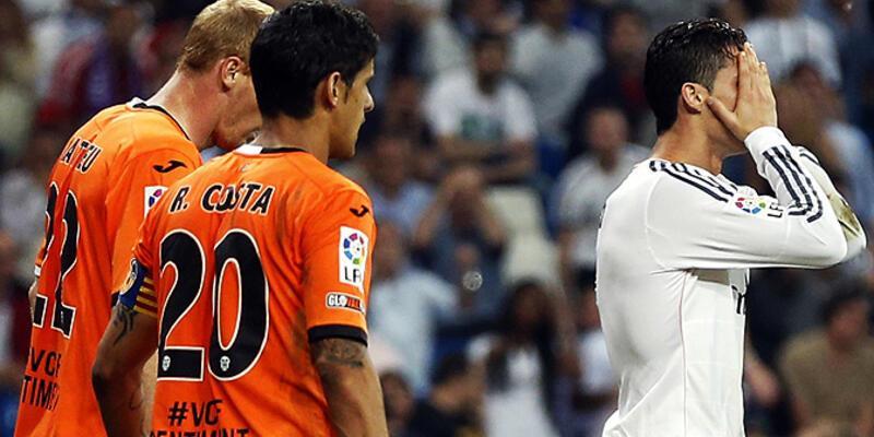La Liga: Real Madrid- Valencia: 2-2