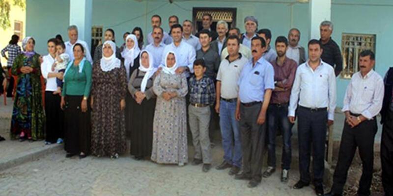 Demirtaş ailesiyle birlikte Mahmur Kampı'nda