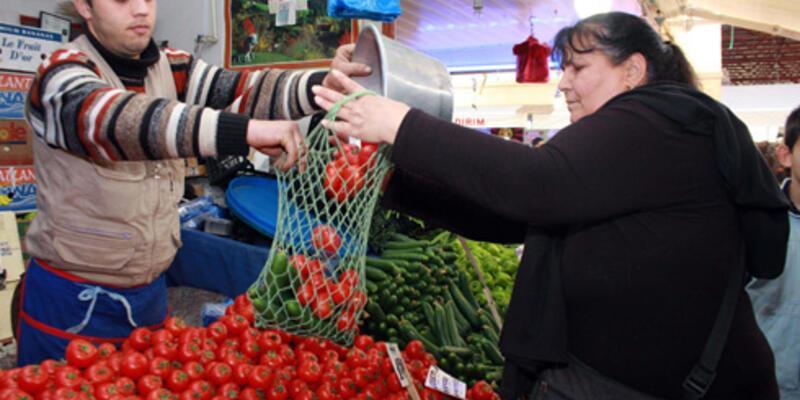 """Sebze ihracatının lokomotifi """"domates"""" oldu"""