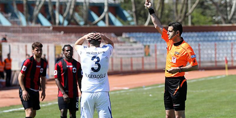 PTT 1. Lig'de 2013-2014 sezonu kart raporu