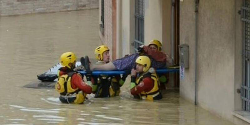 İtalya'nın doğusunu sel vurdu