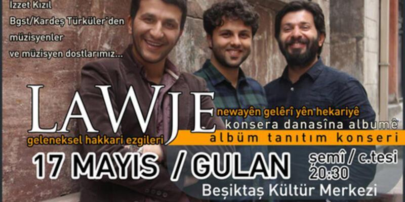 LaWje 17 Mayıs'ta BKM'de sahne alacak