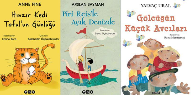 YKY'den 4 yeni çocuk kitabı!..