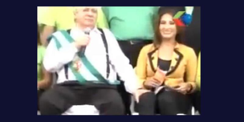 Kadın gazeteciyi taciz etti, TV'den özür diledi