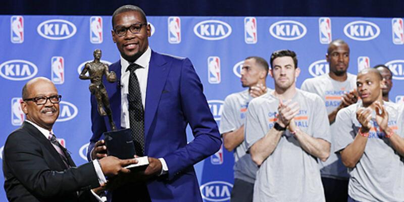 Kevin Durant MVP seçildi