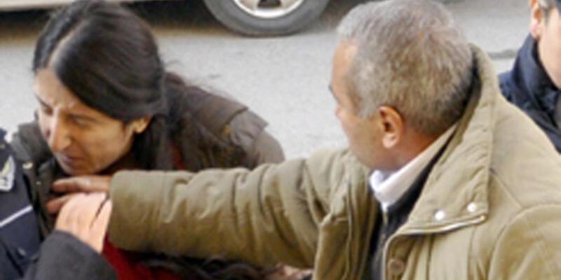 Babasının tokatladığı kız DHKP-C'den gözaltında