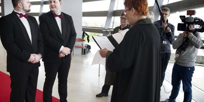 Eurovision, eşcinsellerin evlenmesi için fırsat oldu