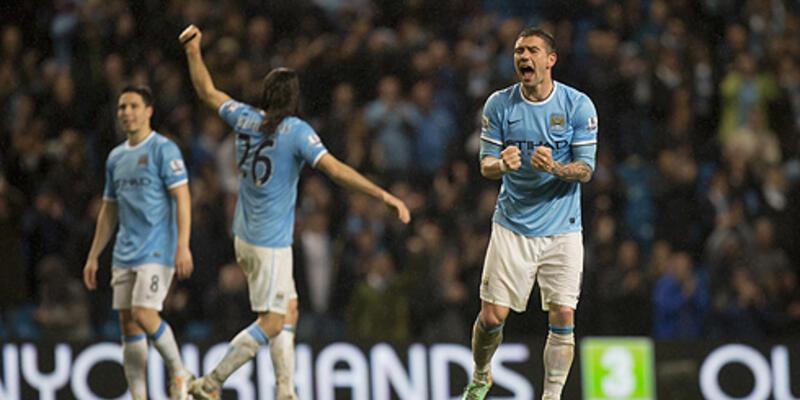 Manchester City şampiyonluk için gün sayıyor