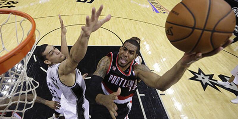 San Antonio Spurs - Portland Trail Blazers: 114-97 (NBA play-off)