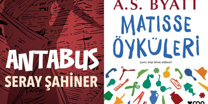 """Can Yayınları'ndan 2 yeni kitap: """"Matisse Öyküleri"""" ve """"Antabus"""""""