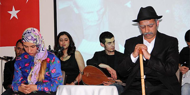 Aşık Veysel müzikali ünlü ozanın memleketinde sahnelendi