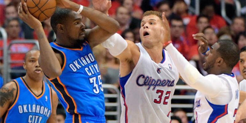 Thunder'da Durant dudurulamıyor