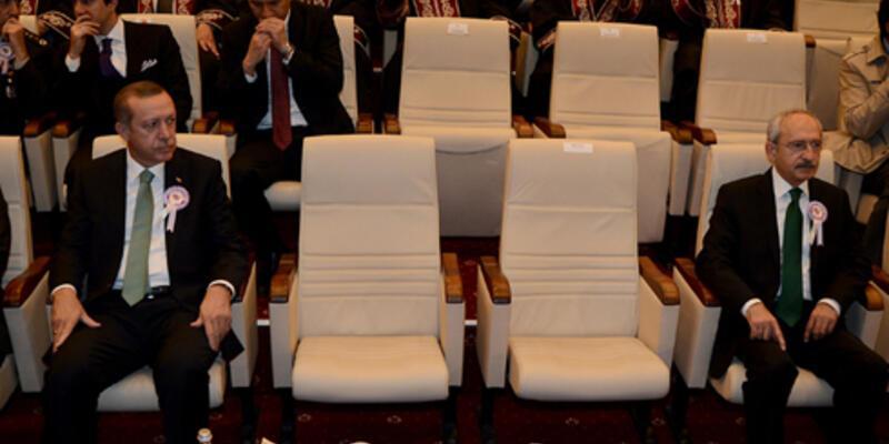 Erdoğan'la Kılıçdaroğlu arasında mesafeli duruş