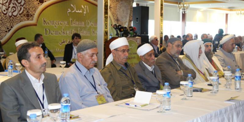 Diyarbakır'da Demokratik İslam Kongresi başladı