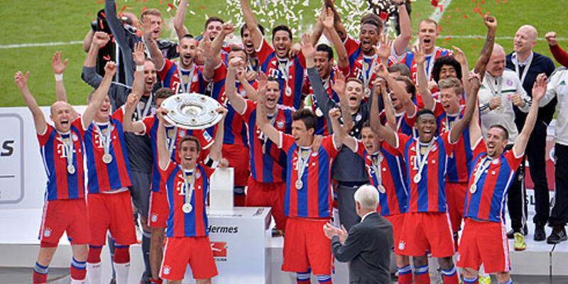 Bayern Münih kupasını aldı