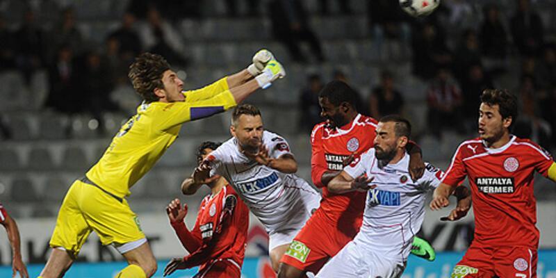 Süper Lig: Gençlerbirliği - Antalyaspor: 1-2