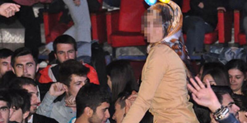 AKP'li vekilden tepki: Başörtülü kızları omuzlarına oturtmuşlar
