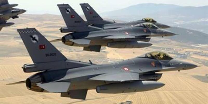 F-16'lar Suriye sınırına gönderildi