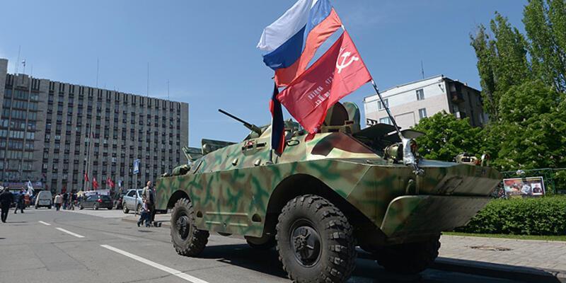 """Bağımsızlık ilan eden """"Donetsk"""" Rusya yolunda"""