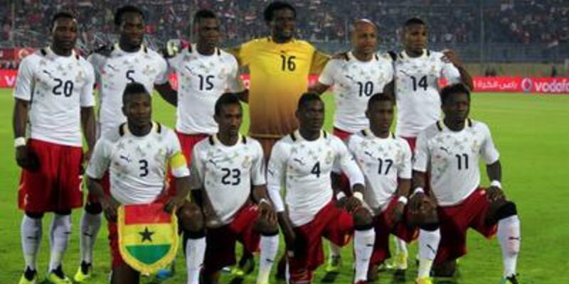 Gana'nın 2014 Dünya Kupası aday kadrosu