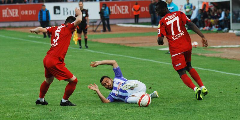 Orduspor - Mersin İdman Yurdu: 0-1