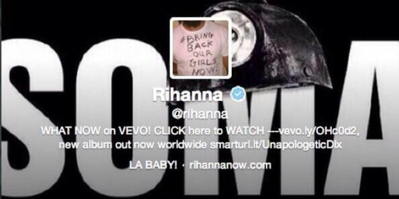 Rihanna da Soma'yı gördü