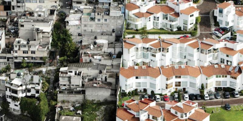 Meksika'da iç burkan görüntü