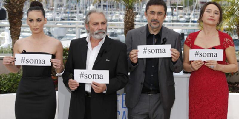 "Cannes Film Festivali'nde ""Soma"" mesajı"