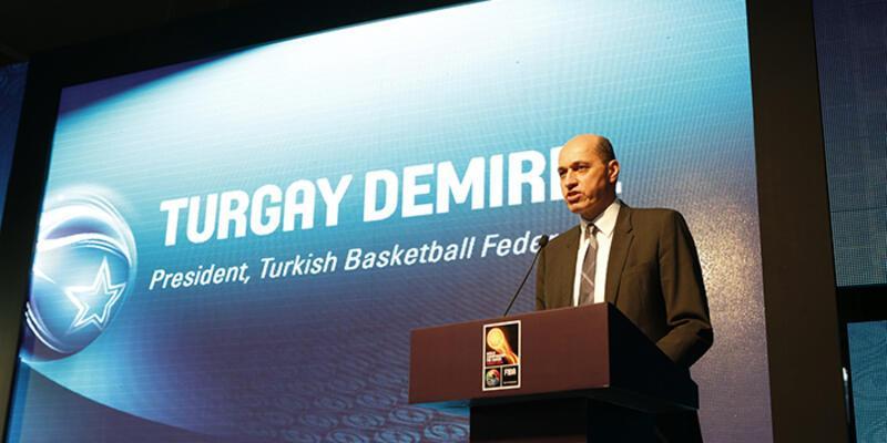 Turgay Demirel FIBA Avrupa Başkanı seçildi